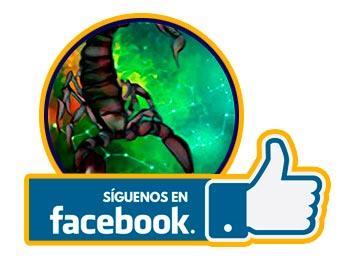 Escorpio - siguenos en facebook